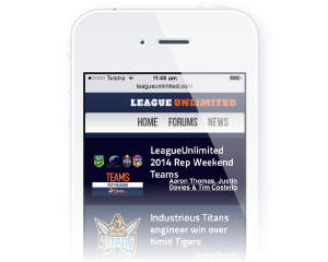 LeagueUnlimited mobile